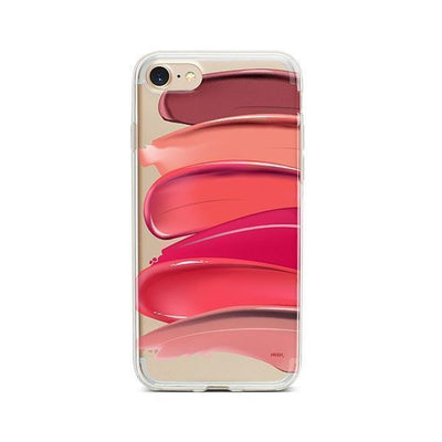 Swatches - Clear TPU - iPhone Case