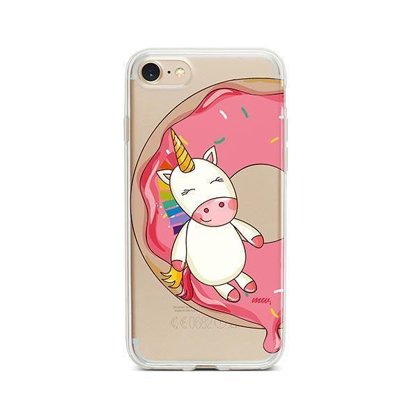 Unicorn Sprinkles iPhone 7 Case Clear
