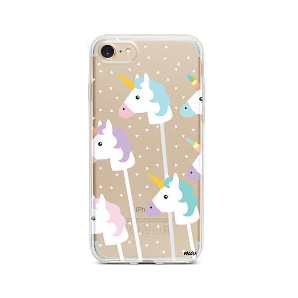 Unicorn Pops iPhone 7 Case Clear