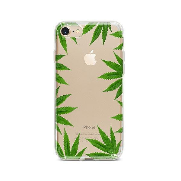 Weed Frame iPhone 7 Case Clear