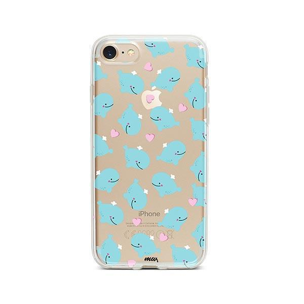 Whale Tale - iPhone 7 Case Clear