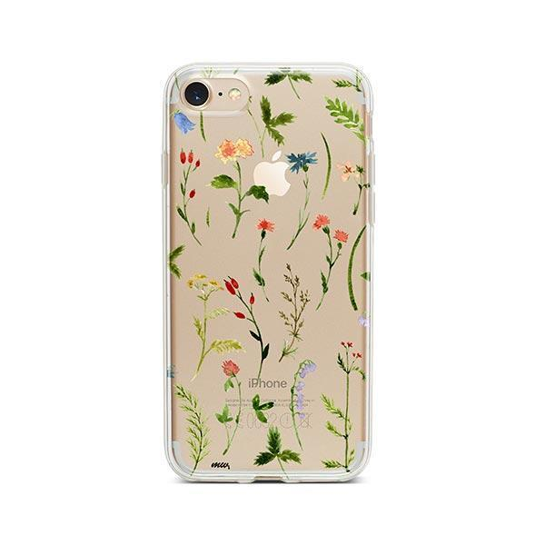 online store 97500 71d98 Wildflower iPhone 8 Case Clear