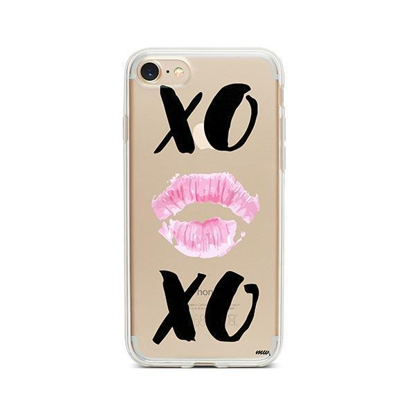 XOXO iPhone 7 Case Clear