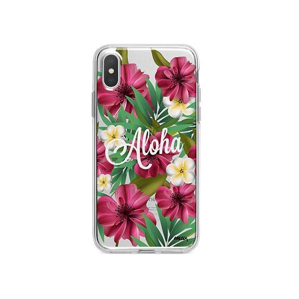 Aloha 2.0 iPhone X Case Clear