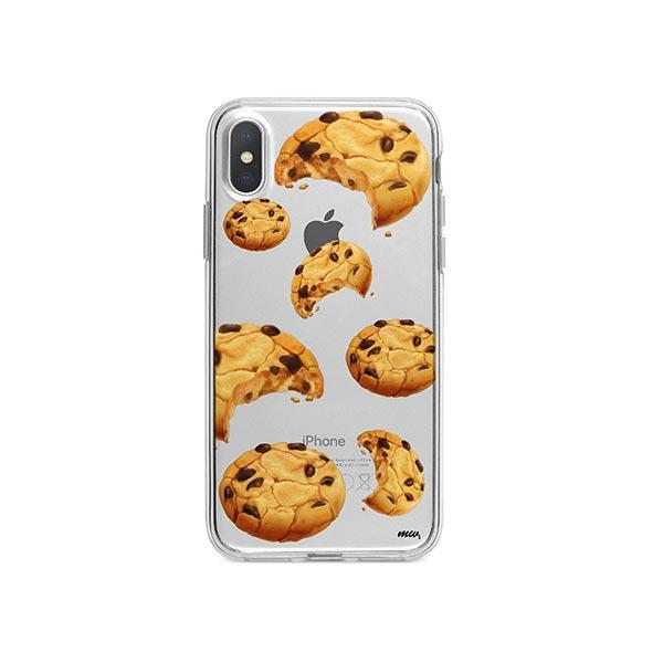Cookie iPhone X Case Clear