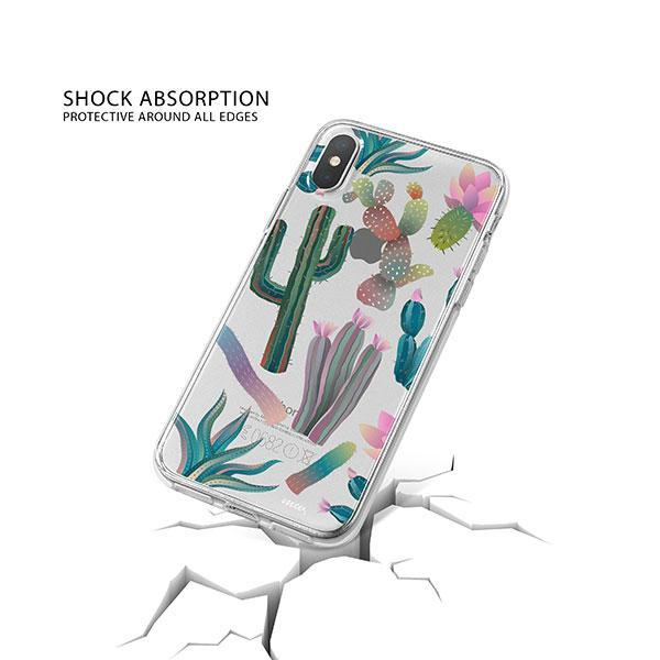 Desert Night iPhone X Case Clear