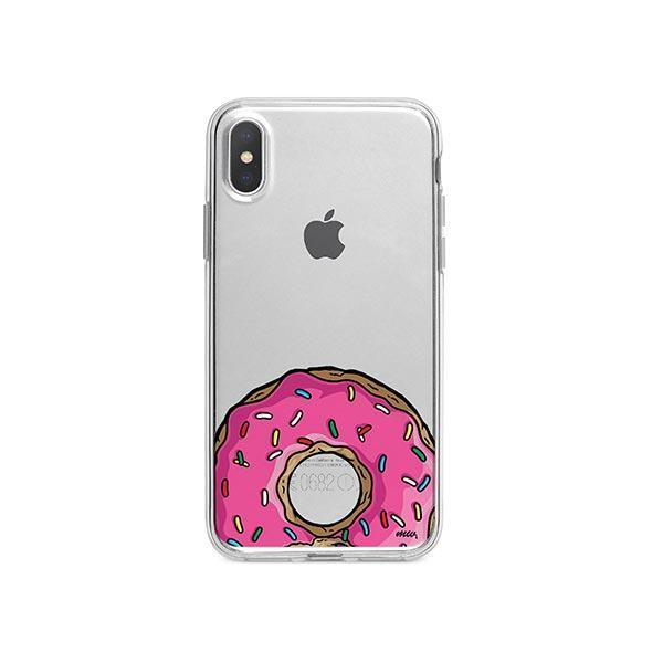 D'OHNUTS iPhone X Case Clear
