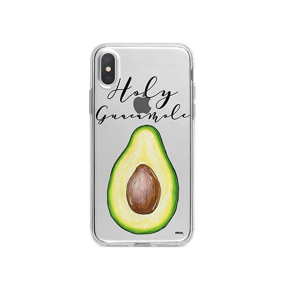 Holy Guacamole iPhone X Case Clear