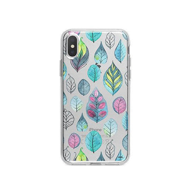 Leaves iPhone X Case Clear