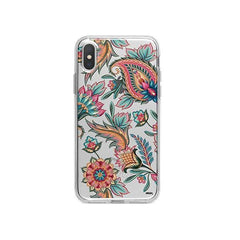 Lola Paisley iPhone X Case Clear