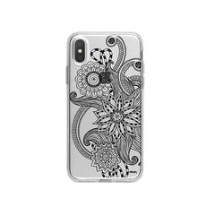 Mehndi Henna iPhone X Case Clear