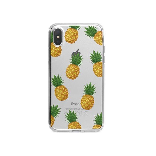 Pineapple Overload iPhone X Case Clear