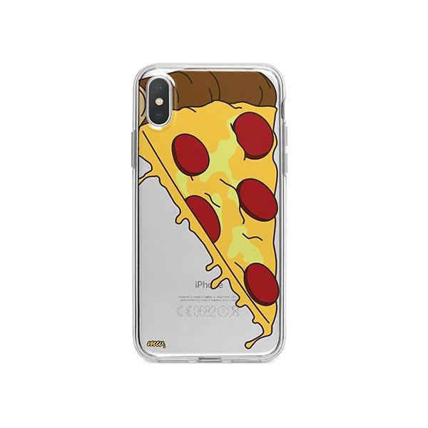 Pizza Slice iPhone X Case Clear