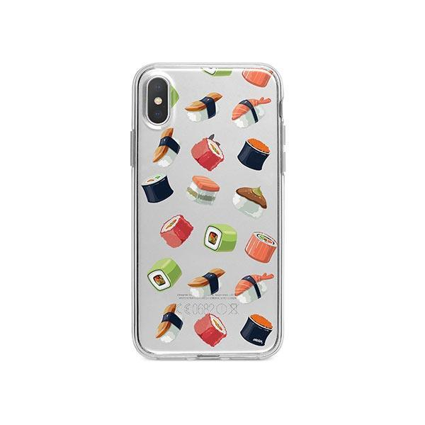 Sushi Lover iPhone X Case Clear