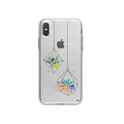 Terrarium iPhone X Case Clear