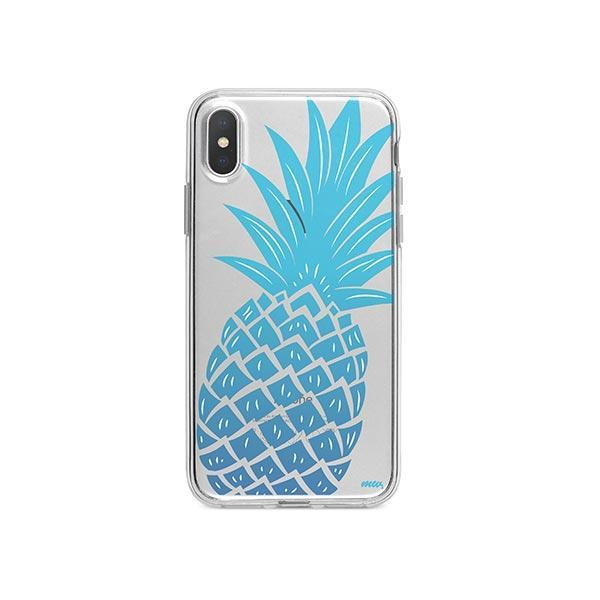 The Big Pineapple iPhone X Case Clear