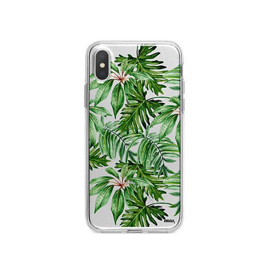 The Tropics iPhone X Case Clear