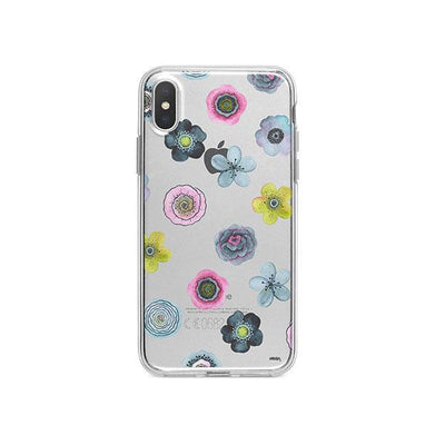 Watercolor Succulent iPhone X Case Clear
