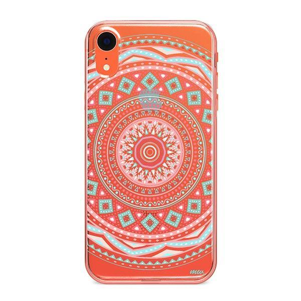 Anna Mandala iPhone XR Case Clear