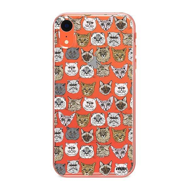 Cat Overload 2 - iPhone XR Clear Case