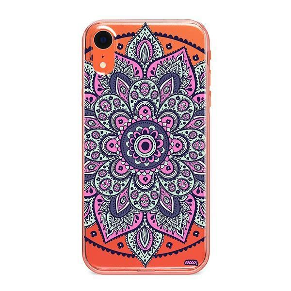 Dakota Mandala iPhone XR Case Clear