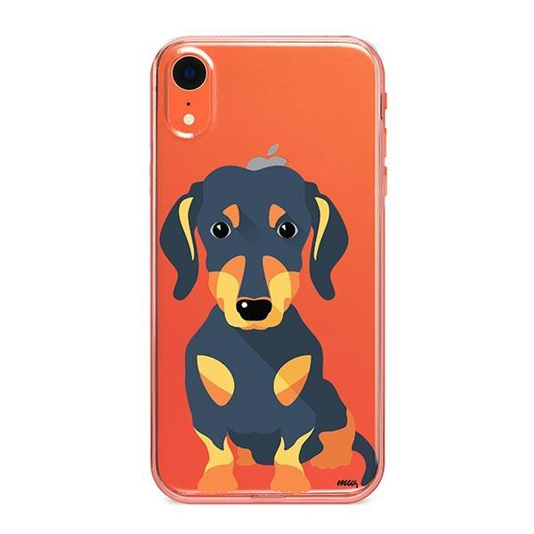 Doxie - iPhone XR Clear Case