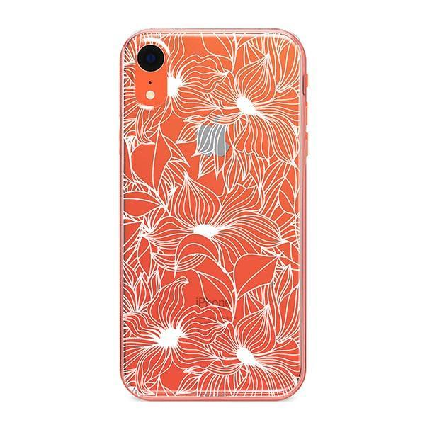 Henna Anastasia iPhone XR Case Clear