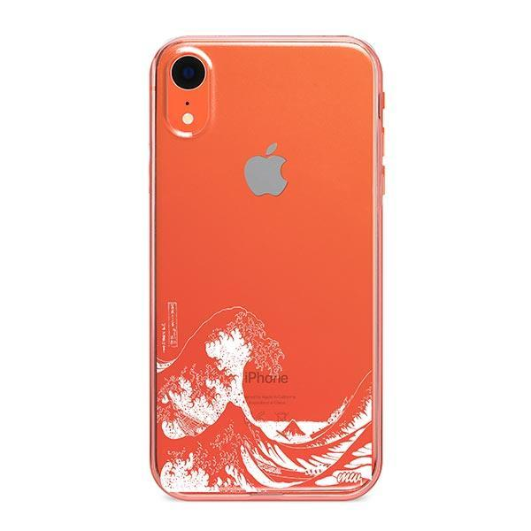 Kanagawa Wave iPhone XR Case Clear
