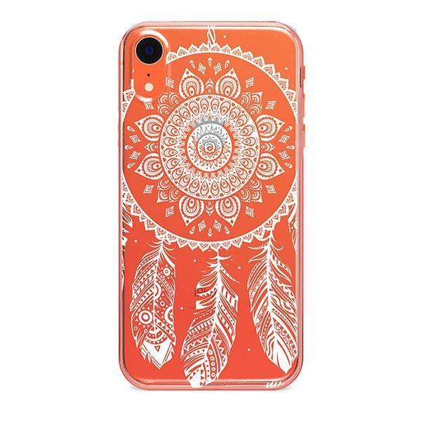 Henna Ojibwe iPhone XR Case Clear