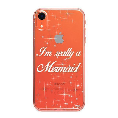 I'm Really a Mermaid - iPhone Clear Case