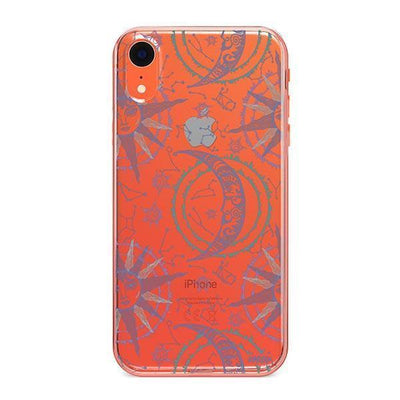 Henna Crescent Sun and Moon - iPhone Clear Case