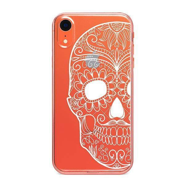 Henna Half Sugar iPhone XR Case Clear