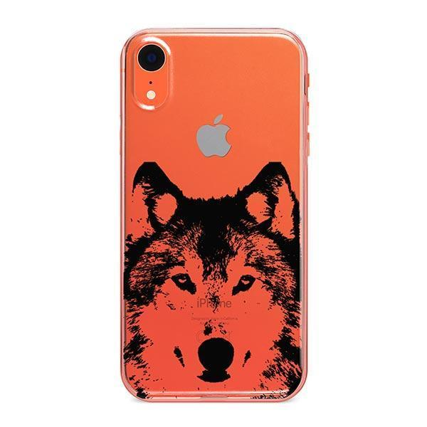 Henna Wolf - iPhone XR Case Clear