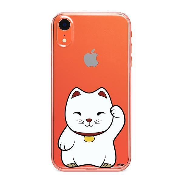Lucky Cat - iPhone XR Clear Case