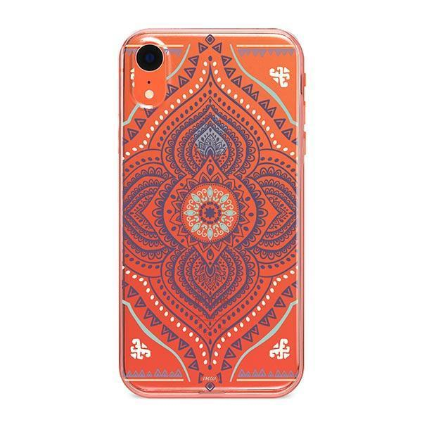 Opulent Mandala iPhone XR Case Clear
