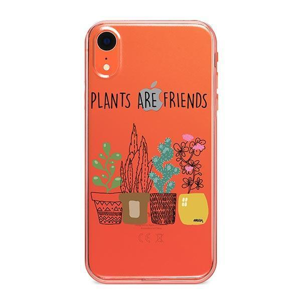 Plants Are Friends iPhone XR Case Clear