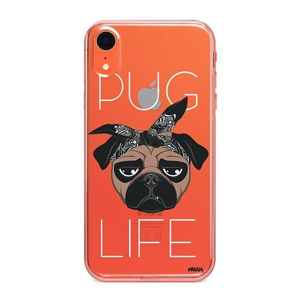 Pug Life - iPhone XR Clear Case