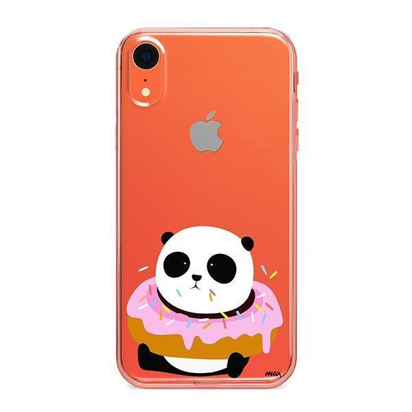 Pandonut iPhone XR Case Clear