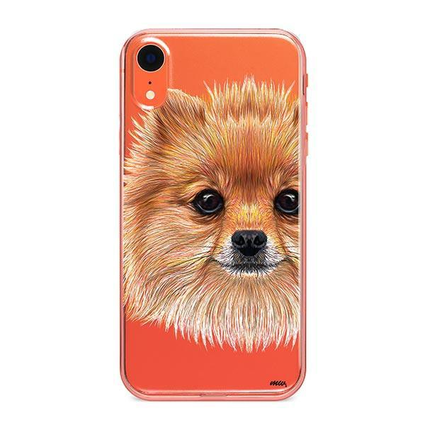 Pomsky Puppy - iPhone XR Clear Case