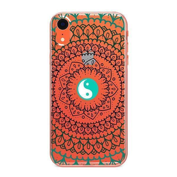 Yin Yang Mandala - iPhone Clear Case