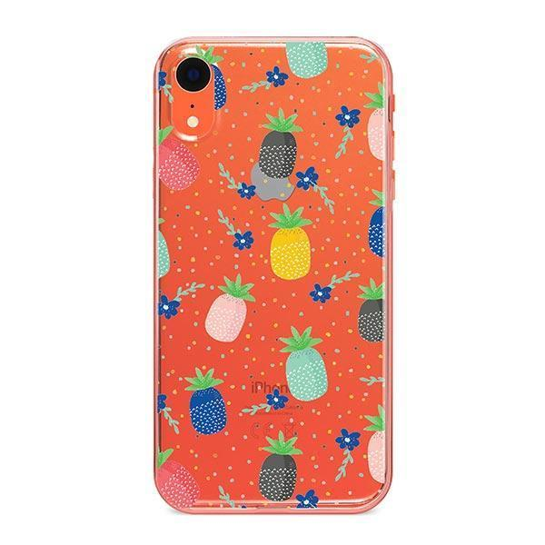 Summer Berry iPhone XR Case Clear