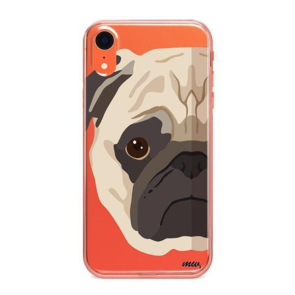 The Pug Case - iPhone XR Clear Case
