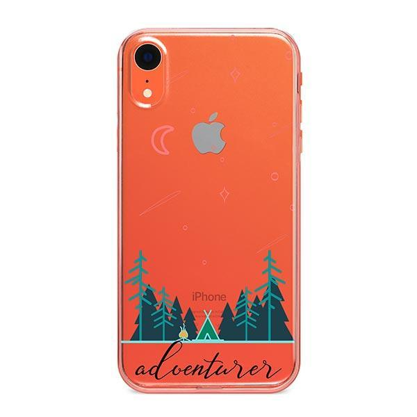 Adventurer iPhone XR Case Clear