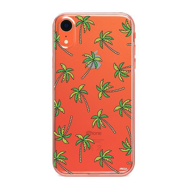 Aloha Trees iPhone XR Case Clear