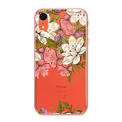 Angela Floral - iPhone Clear Case