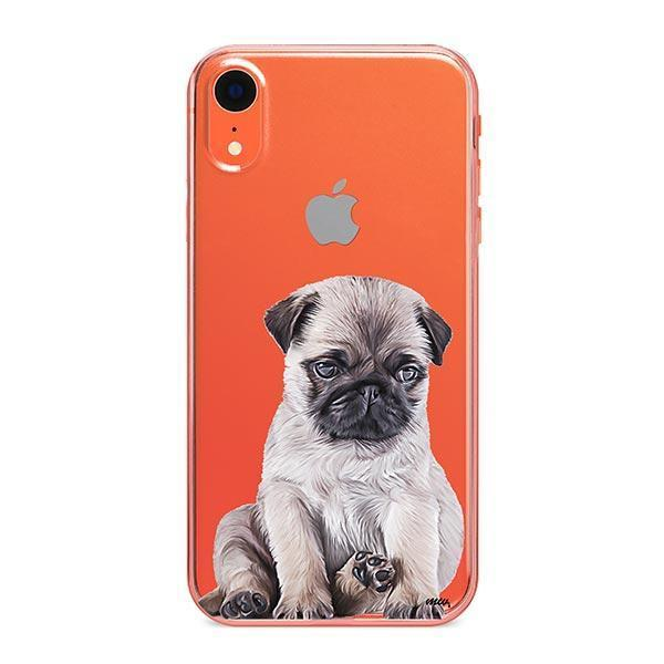 Baby Pug - iPhone XR Clear Case