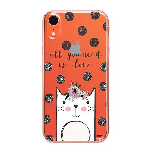 Cat Love - iPhone XR Clear Case