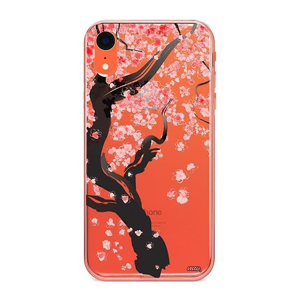 Cherry Blossom Tree iPhone XR Case Clear
