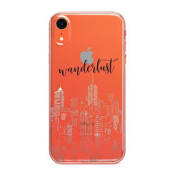 City Wanderlust iPhone XR Case Clear