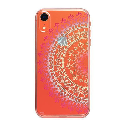 Cotton Candy Mandala - iPhone Clear Case